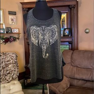 Maurice's racer back tank top